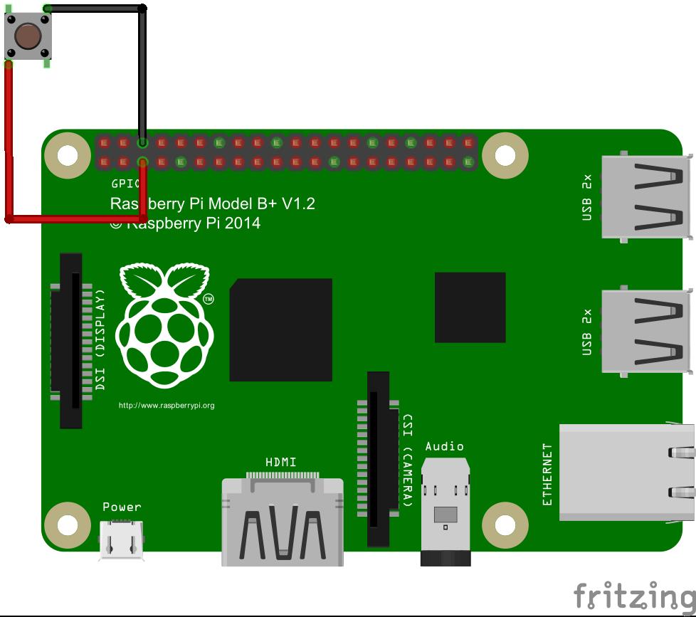 Esquema Conexión Botón Encendido Raspberry Pi 2